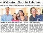 Buxtehudes Waldorfschülern ist kein Weg zu weit
