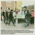 Verein Kinderlicht spendet Tischtennisplatte