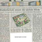 Waldorfschule nimmt nächste Hürde