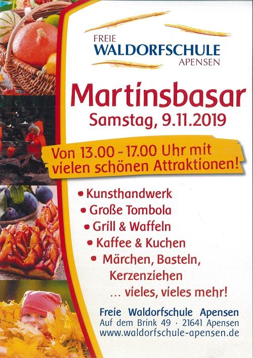 Martinsbasar @ Freie Waldorfschule Apensen   Apensen   Niedersachsen   Deutschland